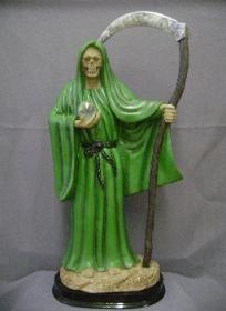 santa-muerte-verde